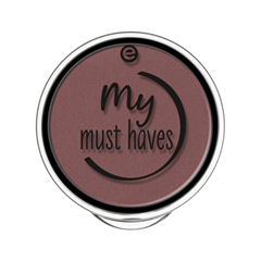 Тени для век essence My Must Haves Eyeshadow 07 (Цвет 07 Mauvie-Time! variant_hex_name 925238) тени для век essence the metals eyeshadow 07 цвет 07 vanilla brilliance variant hex name fef6eb