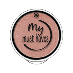 Тени для век essence My Must Haves Eyeshadow 08 (Цвет 08 Peach-Party! variant_hex_name C5887E) тени для век essence тени хайлайтер hi lighting eyeshadow mousse 01 цвет 01 hi ivory variant hex name fdece4