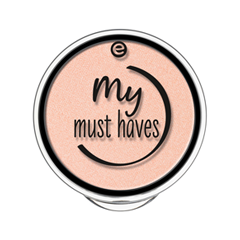 Тени для век essence My Must Haves Eyeshadow 10 (Цвет 10 Apricotta variant_hex_name F9C3AD) тени для век essence my must haves eyeshadow 22 цвет 22 holo holic variant hex name 7a8ac4