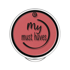 Румяна essence My Must Haves Matt Blush 01 (Цвет 01 Its Berry Time   variant_hex_name C95E62)
