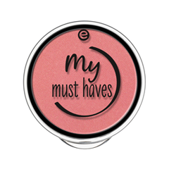 Румяна essence My Must Haves Satin Blush 02 (Цвет 02 Strawberry Smoothie  variant_hex_name E58383) дизайн ногтей essence накладные ногти french click