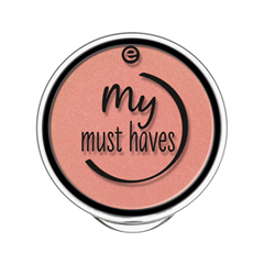 Румяна essence My Must Haves Satin Blush 03 (Цвет 03 Rosy Glow  variant_hex_name E19C8D)