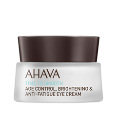 Крем для глаз Ahava Time To Smooth Age Control Brightening & Anti-Fatigue Eye Cream (Объем 15 мл) ahava time to energize крем для бритья без пены time to energize крем для бритья без пены