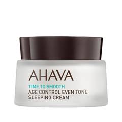 Ночной уход Ahava Time To Smooth Age Control Even Tone Sleeping Cream (Объем 50 мл)