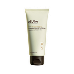 Крем для ног Ahava Deadsea Mud Intensive Foot Cream (Объем 100 мл) ahava deadsea water mineral hand cream prickly pear