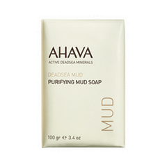 Ahava Deadsea Mud Purifying Mud Soap (Объем 100 г) ahava time to clear purifying mud mask объем 100 мл