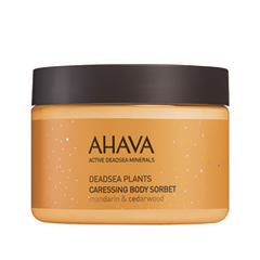 Крем для тела Ahava Deadsea Plants Caressing Body Sorbet (Объем 350 мл) ahava сухое масло для тела опунция и моринга deadsea plants 100 мл сухое масло для тела опунция и моринга deadsea plants 100 мл 100 мл