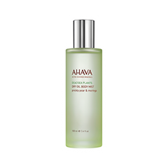 Масло Ahava Deadsea Plants Dry Oil Moringa and Prickly Pear Body Mist (Объем 100 мл) гель для душа ahava deadsea salt liquid deadsea salt объем 200 мл