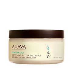 Скрабы и пилинги Ahava Deadsea Salt Softening Butter Salt Scrub (Объем 235 мл) гель для душа ahava deadsea salt liquid deadsea salt объем 200 мл
