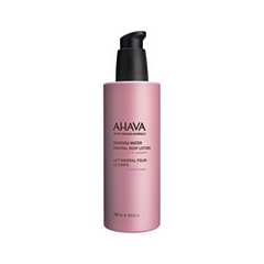 Крем для тела Ahava Deadsea Water Mineral Body Lotion Cactus and Pink Pepper (Объем 250 мл) пилинг для тела ahava deadsea water 200 мл