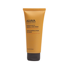 Крем для рук Ahava Deadsea Water Mineral Hand Cream Mandarin & Cedarwood (Объем 100 мл) гель для душа ahava deadsea salt liquid deadsea salt объем 200 мл