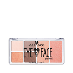 Для глаз essence Eye & Face Palette 02 (Цвет 02 Rise & Shine variant_hex_name F4A589) палетки essence live laugh celebrate palette 4