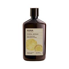 Гель для душа Ahava Mineral Botanic Cream Wash Tropical Pineapple & White Peach (Объем 500 мл) ahava mineral radiance дневной крем spf15 mineral radiance дневной крем spf15