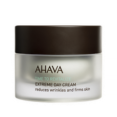 Крем Ahava Time To Revitalize Extreme Day Cream (Объем 50 мл) ahava time to energize крем для бритья без пены time to energize крем для бритья без пены