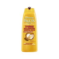 Шампунь Garnier Fructis. Шампунь-масло Тройное Восстановление (Объем 400 мл)