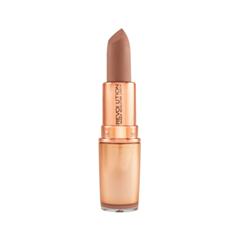 Помада Makeup Revolution Iconic Matte Nude Revolution Lipstick Wishful (Цвет Wishful variant_hex_name B98673)