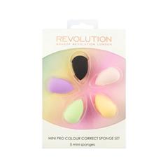 Спонжи и аппликаторы Makeup Revolution Набор спонжей Mini Pro Colour Correct Sponge Set the revolution mini 500