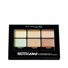 Для лица Maybelline New York Master Camo Color Correcting Kit 01 (Цвет 01 Light variant_hex_name E6D2AD) maybelline new york консилер для цветокоррекции лица master camo оттенок 30 розовый 1 5 мл