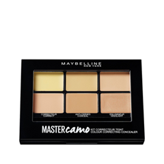 Для лица Maybelline New York Master Camo Color Correcting Kit 02 (Цвет 02 Medium variant_hex_name D2A679) maybelline new york консилер для цветокоррекции лица master camo оттенок 30 розовый 1 5 мл