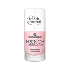 Лак для ногтей essence French Manicure Beautifying Nail Polish 01 (Цвет 01 Girl's Best FRENCH  variant_hex_name FECCD5) дизайн ногтей essence накладные ногти french click