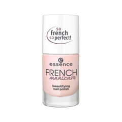 Лак для ногтей essence French Manicure Beautifying Nail Polish 02 (Цвет 02 FRENCHs Are Forever  variant_hex_name FAD8D7)