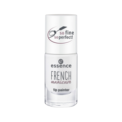 Дизайн ногтей essence French Manicure Tip Painter 01 (Цвет 01 Its Perfectly Fine! variant_hex_name FFFFFF)