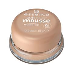 Тональная основа essence Тонирующий мусс Soft Touch Mousse Make-up 01 (Цвет 01 Matt Sand  variant_hex_name E6BEAC) soft touch пкраска в балончике