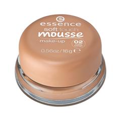 Тональная основа essence Тонирующий мусс Soft Touch Mousse Make-up 02 (Цвет 02 Matt Beige variant_hex_name DBAB94) essence matt touch 10 цвет 10 peach me up
