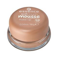 Тональная основа essence Тонирующий мусс Soft Touch Mousse Make-up 03 (Цвет 03 Matt Honey  variant_hex_name CF8B6F) essence matt touch 10 цвет 10 peach me up
