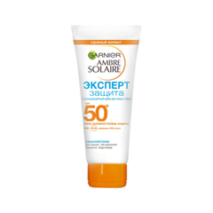 Защита от солнца Garnier Ambre Solaire. Солнцезащитный крем Эксперт Защита SPF50+ (Объем 50 мл)