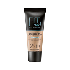 Fit Me Matte & Poreless Foundation 220 (Цвет 220 variant_hex_name FCBB94)