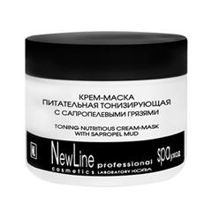 Антивозрастной уход New Line Cosmetics Крем-маска питательная тонизирующая с сапропелевыми грязями (Объем 300 мл)
