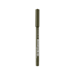 Карандаш для глаз Catrice Liquid Metal Gel Eye Pencil 040 (Цвет 040 Leaf The World Behind variant_hex_name 726E59 Вес 90.00) для глаз catrice the modern matt collection eyeshadow palette 010 цвет 010 the must have matts variant hex name b19f9b