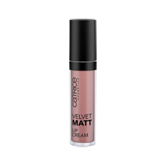 Жидкая помада Catrice Velvet Matt Lip Cream 010 (Цвет 010 MidNude Season variant_hex_name BC8A7E Вес 10.00)