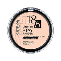 Пудра Catrice 18h Made To Stay Powder 010 (Цвет 010 Nude Beige variant_hex_name FED8C3) пудра catrice healthy look mattifying powder 010 цвет 010 luminous light variant hex name facab6