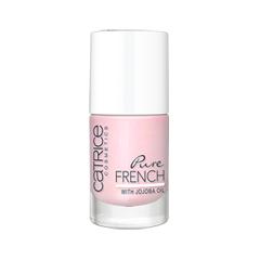Лак для ногтей Catrice Pure French 03 (Цвет 03 Wearing My Rose French Coat variant_hex_name E4C6D4) дизайн ногтей essence накладные ногти french click