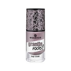 Топы essence Granite Rocks! Top Coat (Объем 8 мл)