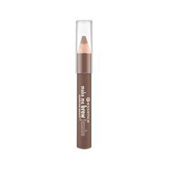 Карандаш для бровей essence Make Me Brow Jumbo Eyebrow Pencil 10 (Цвет 10 Blonde variant_hex_name 7C5C51) цена и фото