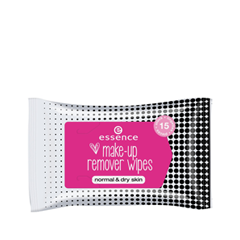 Влажные салфетки essence Makeup Remover Wipes - Normal & Dry Skin makeup remover cloth 2pcs