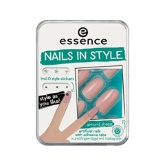 Дизайн ногтей essence Накладные ногти Nails In Style 02 (Цвет 02 Abso-Nude-Ly Fabulous variant_hex_name DCDBE0)
