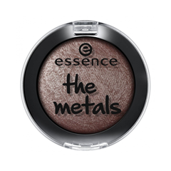 Тени для век essence The Metals Eyeshadow 03 (Цвет 03 Chocolate Frosting  variant_hex_name 746162) тени для век essence the metals eyeshadow 06 цвет 06 rose razzle dazzle variant hex name e9bfbb