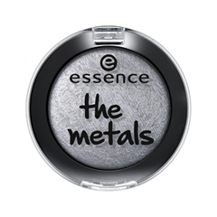Тени для век essence The Metals Eyeshadow 05 (Цвет 05 Silver Twinkle variant_hex_name C8D0D4) тени для век essence live laugh celebrate eyeshadow 07 цвет 07 the sun is shining variant hex name d6ac7a