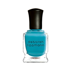 Лак для ногтей Deborah Lippmann Crème Nail Polish On the Beach (Цвет On the Beach variant_hex_name 43A6C6) лак для ногтей deborah lippmann crème nail polish blue orchid цвет blue orchid variant hex name afc5d3