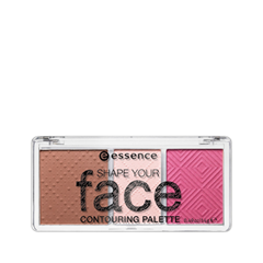Для лица essence Палетка для скульптурирования Shape Your Face Contouring Palette 20 (Цвет 20 Ready, Set, Pink! variant_hex_name EB7BA6) для лица essence палетка для скульптурирования shape your face contouring palette 20 цвет 20 ready set pink variant hex name eb7ba6