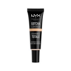 Консилер NYX Professional Makeup Gotcha Covered Concealer 00 (Цвет 00 Alabaster variant_hex_name EDD3BA) nyx professional makeup жидкий консилер для лица concealer wand alabaster 00