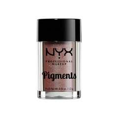 Тени для век NYX Professional Makeup Pigments 21 (Цвет 21 Metallic Velvet variant_hex_name E0CFBD) nyx professional makeup рассыпчатые сияющие пигменты pigments go ham 23