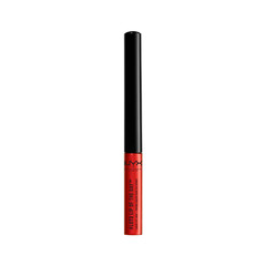 Губы NYX Professional Makeup Жидкая Подводка #Lotd Lip Of The Day Liquid Lip Liner 01 (Цвет 01 Heatwave variant_hex_name B81A12)