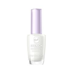 Лак для ногтей Bell French Manicure Nail Enamel 1 (Цвет 01 Белый variant_hex_name FFFFFF) лак для ногтей essence french manicure perfecting nail polish 01 цвет 01 let s be frenchs variant hex name fafaf7