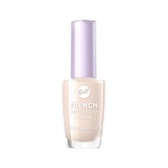 Лак для ногтей Bell French Manicure Nail Enamel 3 (Цвет 03 Бледно-персиковый variant_hex_name FDEEE7) лак для ногтей essence french manicure perfecting nail polish 01 цвет 01 let s be frenchs variant hex name fafaf7