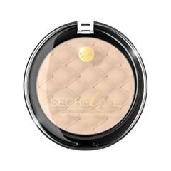 Компактная пудра Bell Secretale Mat Touch Face Powder 03 (Цвет 03 variant_hex_name F0D0B7) graftobian пудра для лица face powder 4 оттенка пудра для лица face powder 4 оттенка 141 г skin tone dark темная